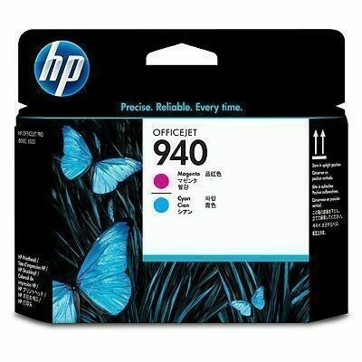 HP 940 Cyan & Magenta Printhead , C4901A