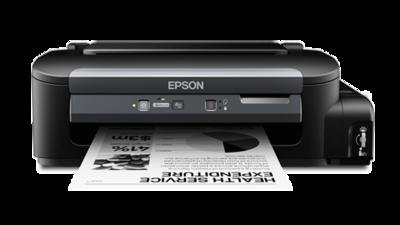Epson M105 Single Function Black on White Ink Tank Printer