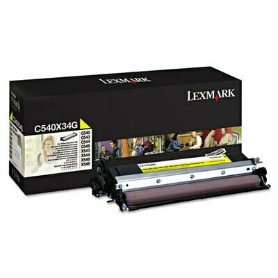 Lexmark C540X34G Yellow Developer Unit
