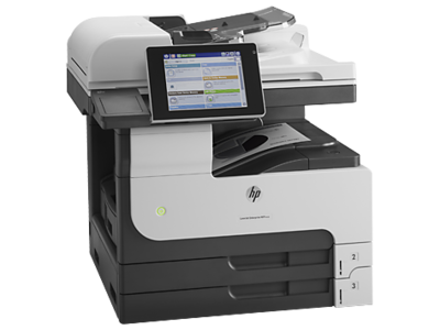HP M725dn Black on White A3 All In One Laser Printer