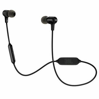 JBL E25BT Wireless in-Ear Headphones with Mic, Black