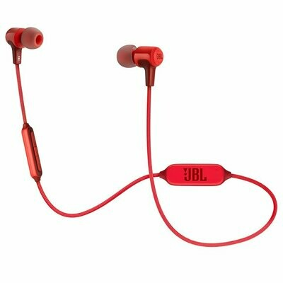 JBL E25BT Wireless In-Ear Headphones With Mic, Red