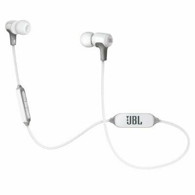 JBL E25BT Wireless In-Ear Headphones With Mic, White