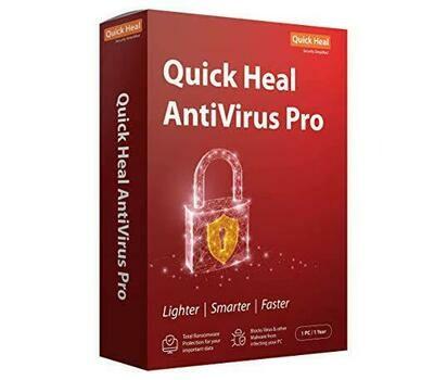 1 User, 1 Year, Quick Heal Antivirus Pro