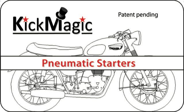 KickMagic Triumph Pneumatic Starter Kit for 1963-1967 650's