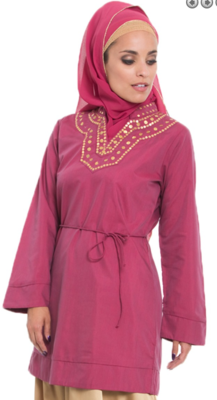 Silky Tunic Pink