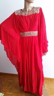 Orientalisches Festkleid / Robe orientale de fête / Oriental evening dress