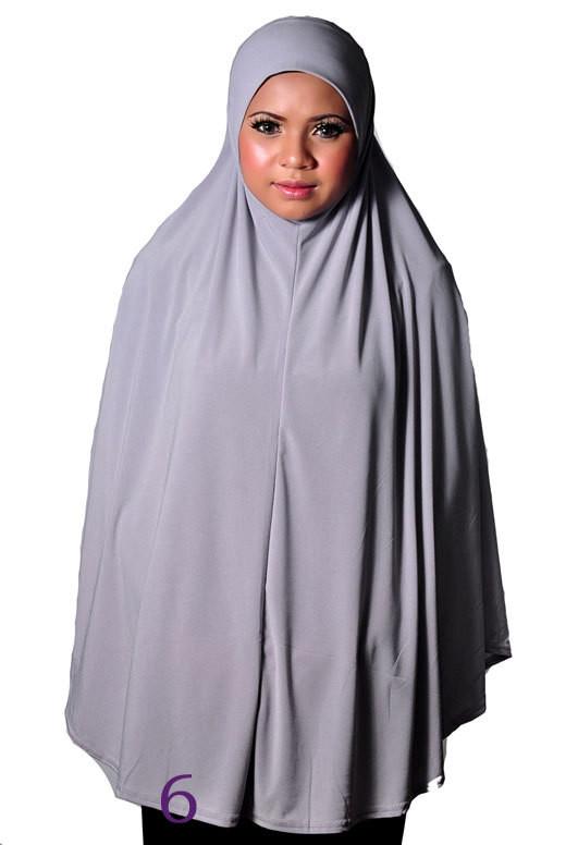 Kopftuch für das Gebet, Khimar Grey