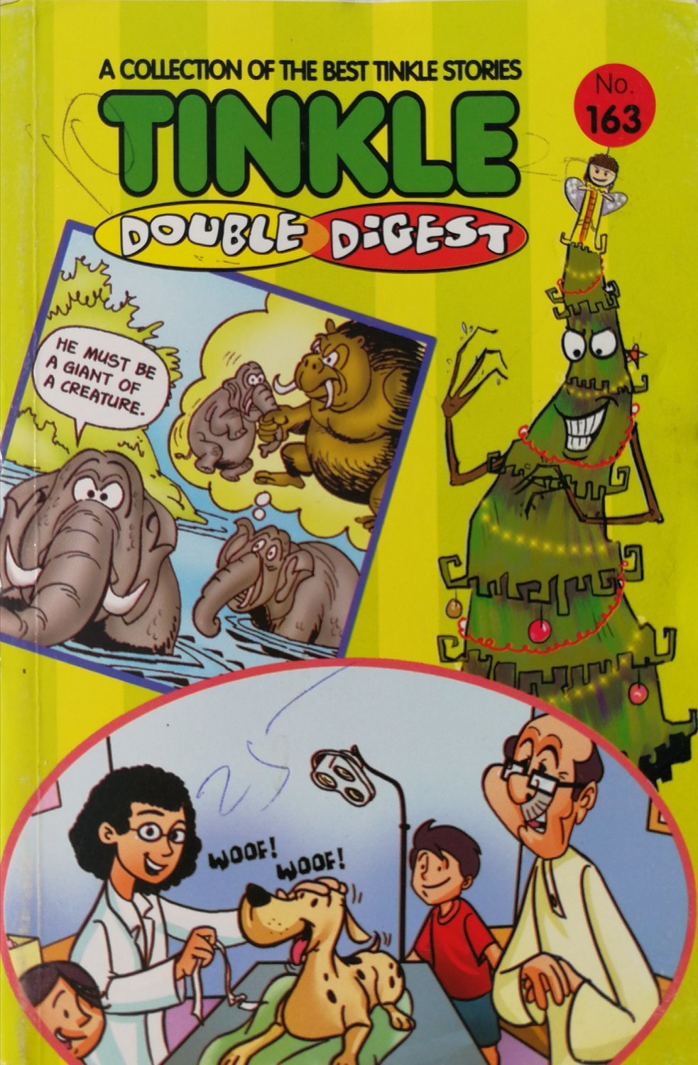 Tinkle Double Digest - No. 163