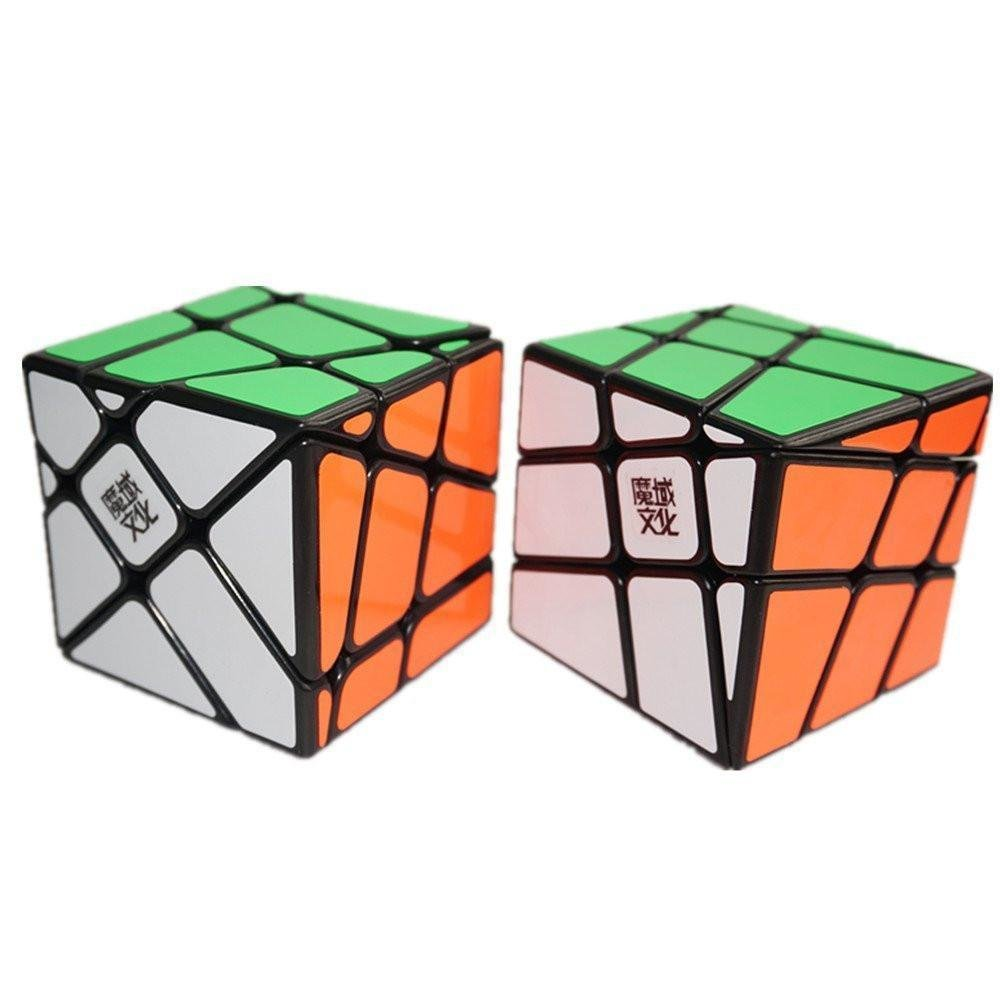 Moyu Fenghuolun Crazy Windmill Cube Puzzle Brain Magic Intellectual Development