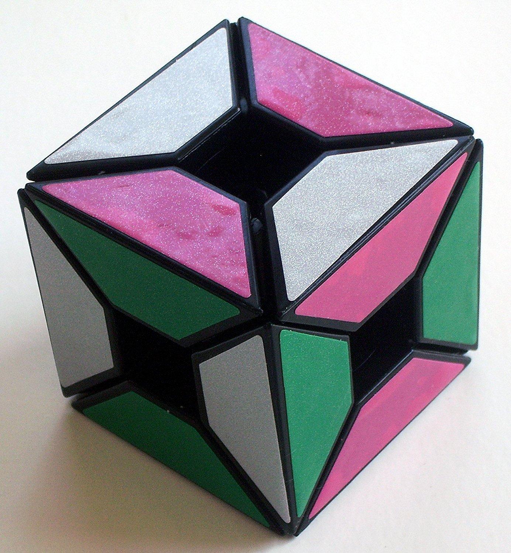 LanLan® Edge Only Void Cube Black Puzzle