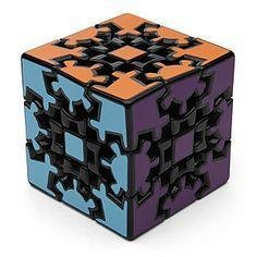 Perplexing Gear Cube Puzzle