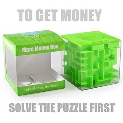 Money Maze Puzzle Box - Unique Way To Give Gifts  - Fun Challenge