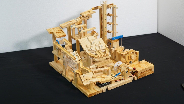 Marble Machine Plant - Single Side (Single lifting module)