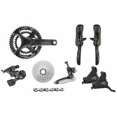 Super Record 12s disc brakes mechanical