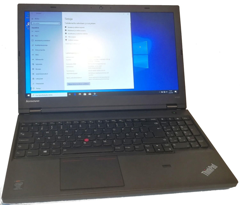 Lenovo W540 Core i7  Nvidia-näytönohjain ja FullHD-näytöllä ( Grade A-)