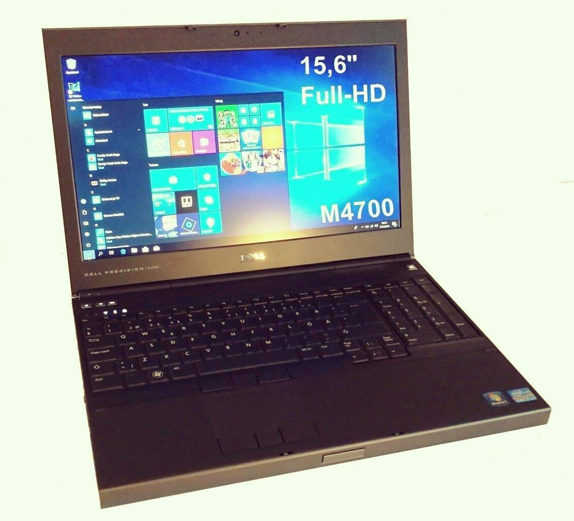 Dell Precision M4700 Core i7 3rd gen (2-core)/ 16gb keskusmuistilla!. Erillinen Nvidia Quadro näytönohjain. Full HD-näyttö ja 256gb SSD