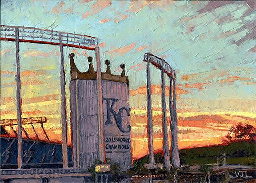 Postcard Set Sporting KC