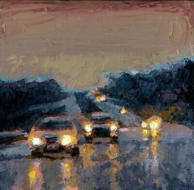 Glowing Highway