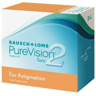 PURE VISION2 ASTIGMATIC 6 PACK