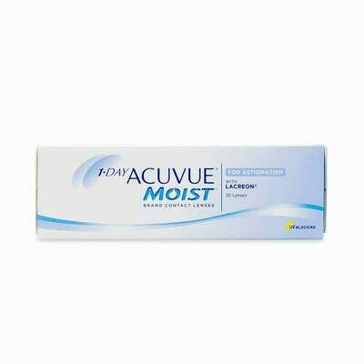 ACUVUE MOIST ASTIGMATIC 30 PACK