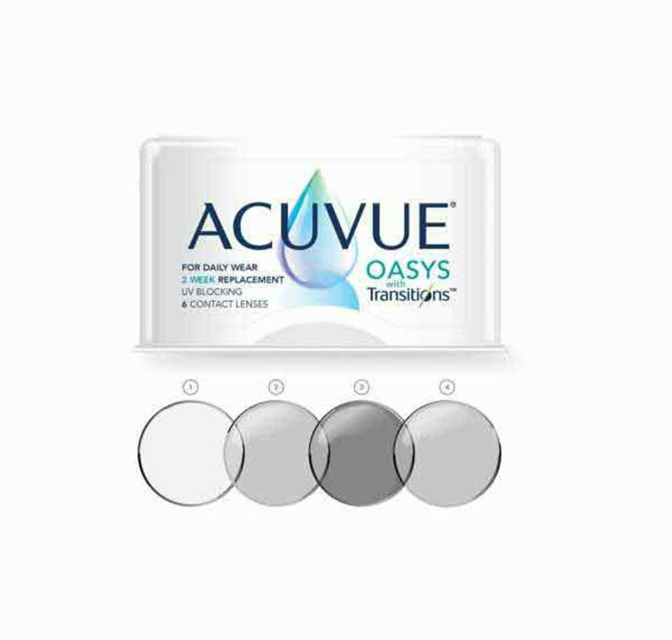 ACUVUE OASYS TRANSITIONS 6 PACK