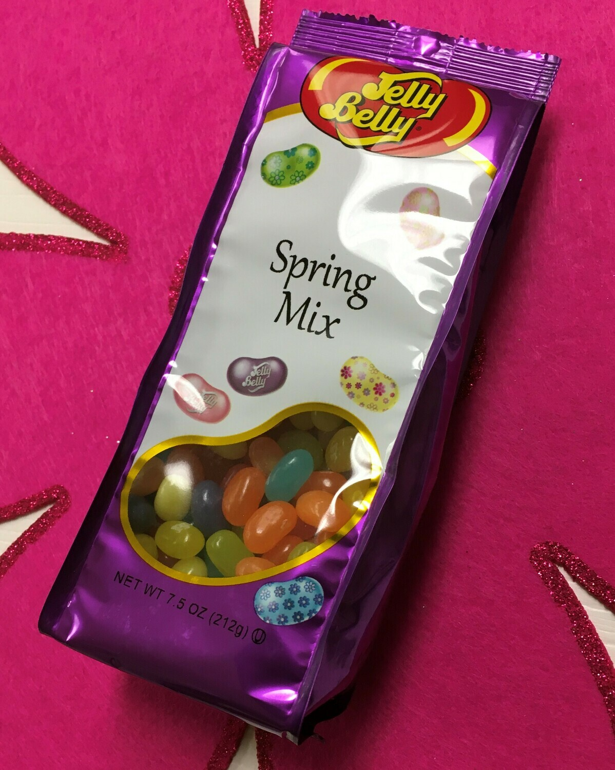 Jelly Belly Jelly Beans.  7.5 oz. bag.