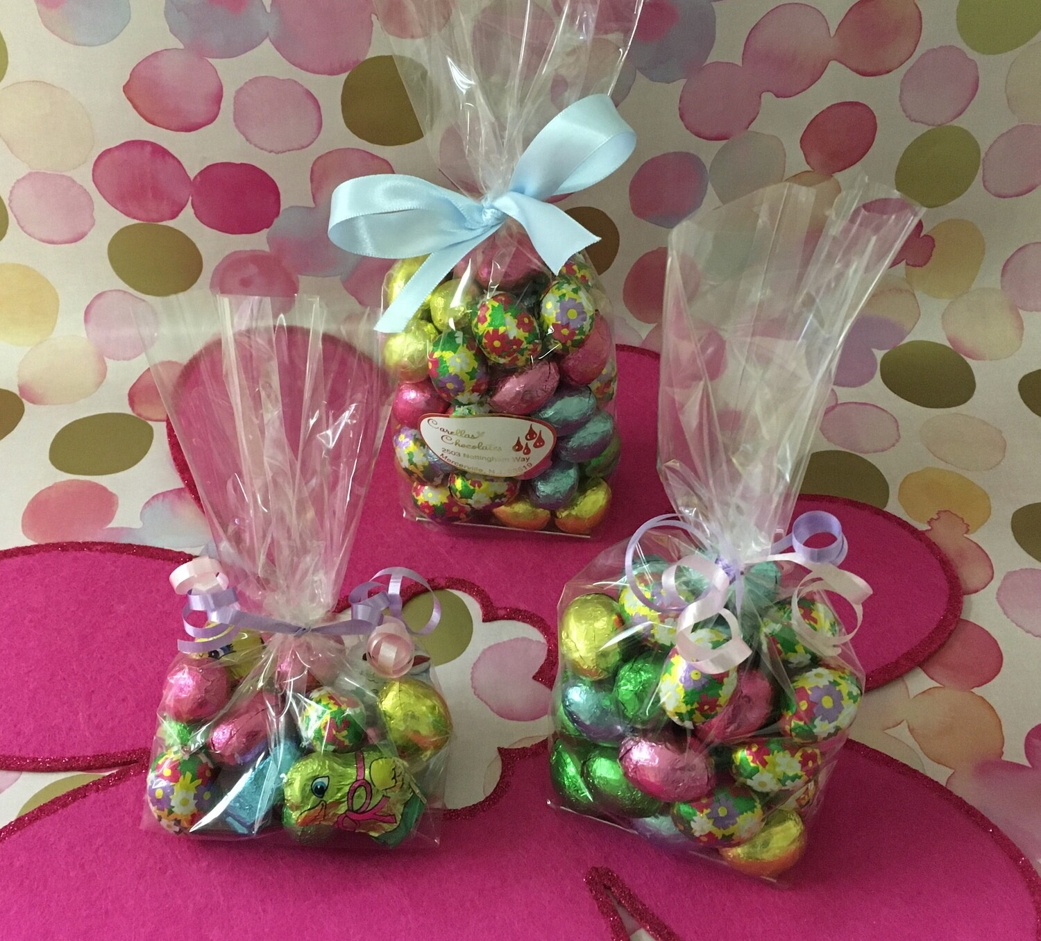 Bagged Foiled Milk Chocolate Eggs. One Size left.