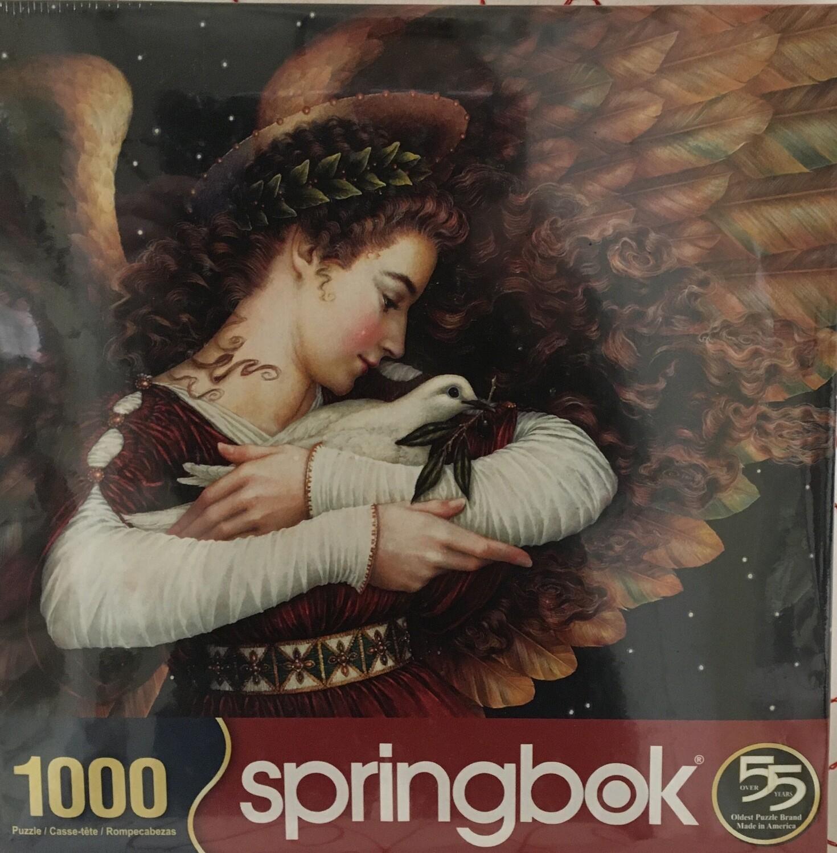 Angel 1000 piece Springbok Puzzle.