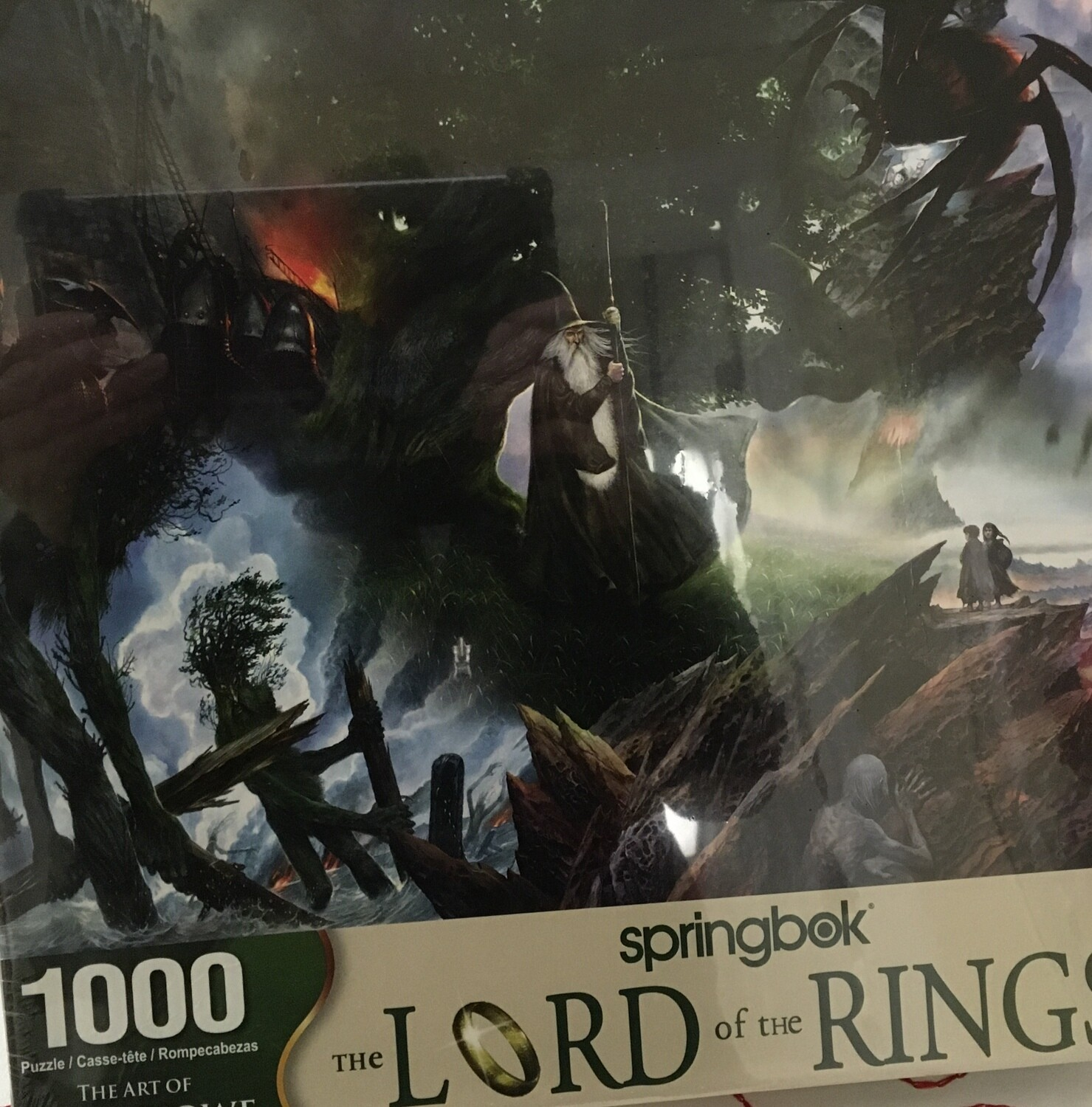 Lord of the Rings.  1000 piece Springbok Puzzle
