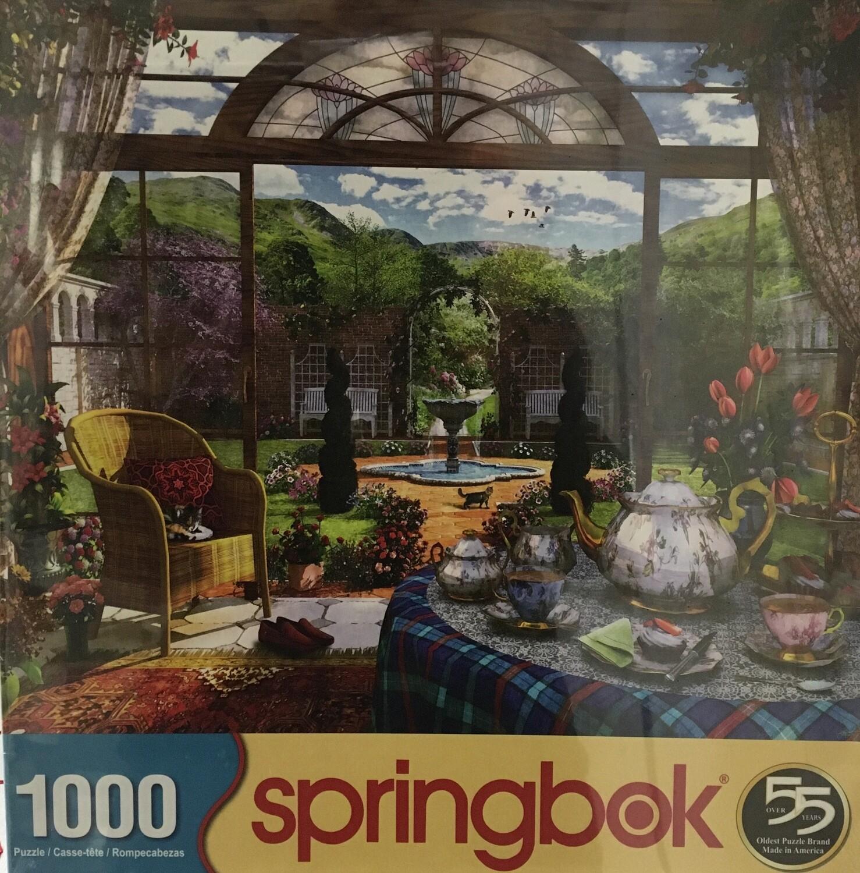 Tea Time.  1000 piece puzzle.