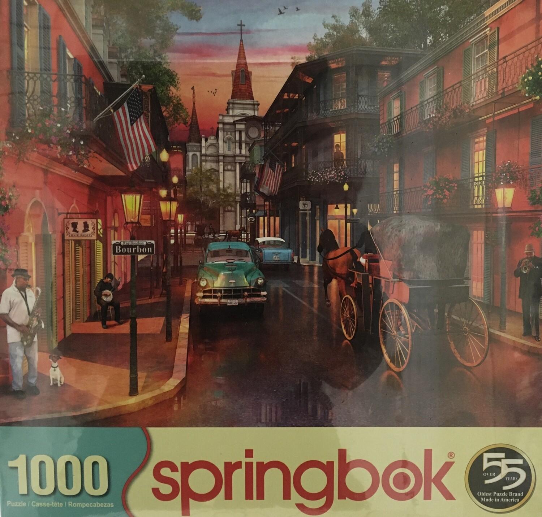 Bourbon Street.  1000 piece puzzle.