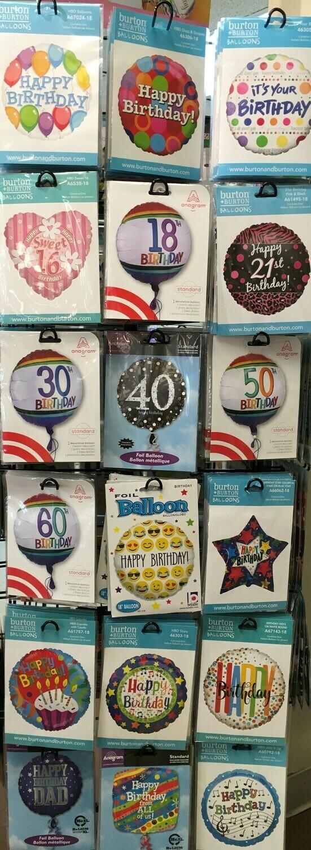 Pick your Helium Balloon