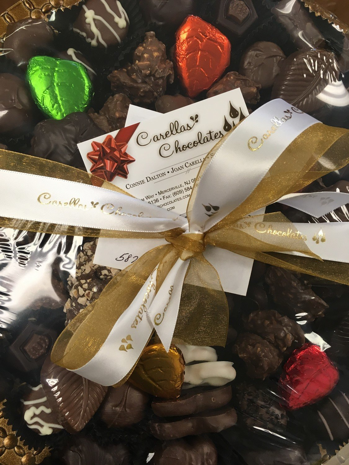 Fall Tray Assorted Chocolates.  Choose your Holiday or theme.