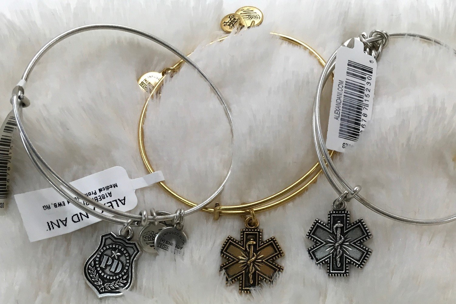 Medical Professional, Firefighter or Law Enforcement Alex and Ani Bangle Bracelet