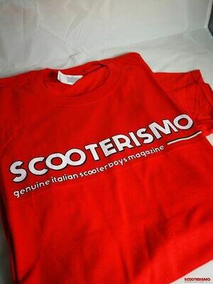 Tshirt Scooterismo Rossa