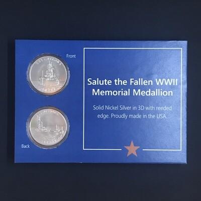 Salute The Fallen Medallion