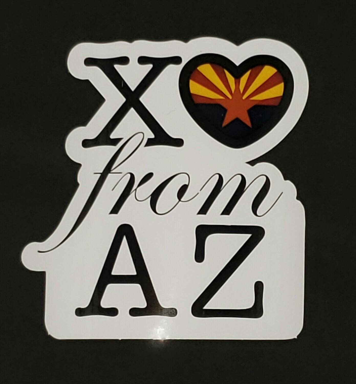XOAZ vinyl Sticker