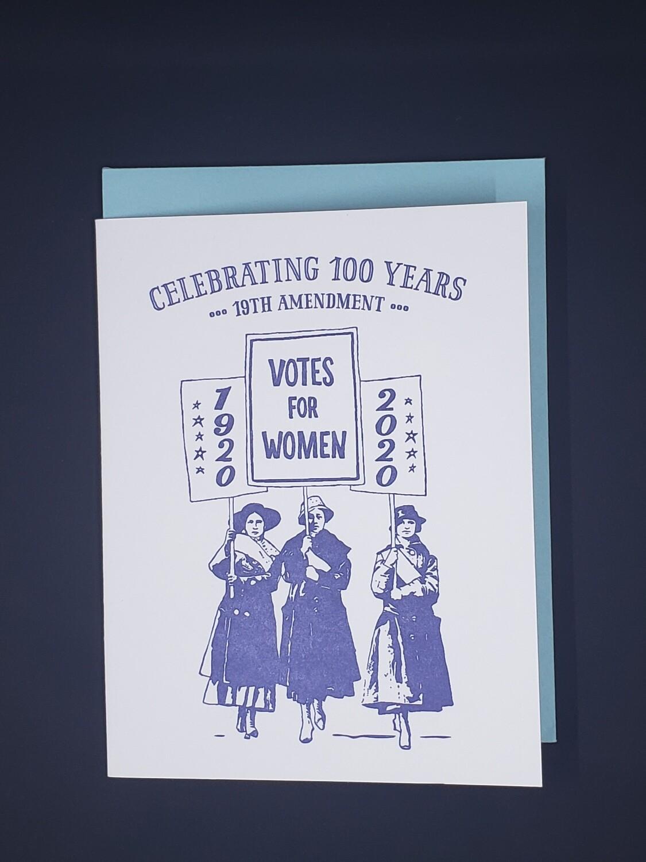 Celebrating 100 Years Card
