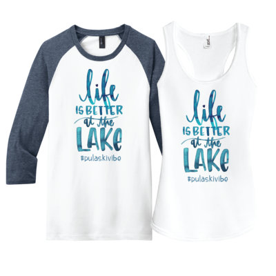 Life is Better at the Lake - customize it for your lake