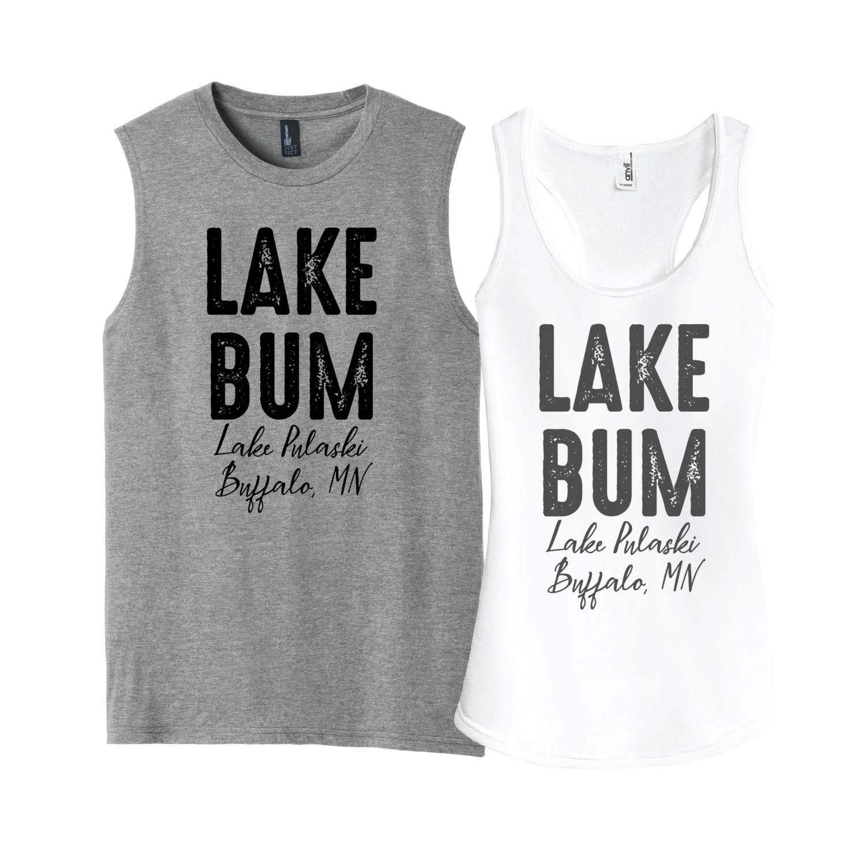 Lake Bum Tanks - customize it for your lake