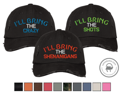 Embroidered Party Group Hats