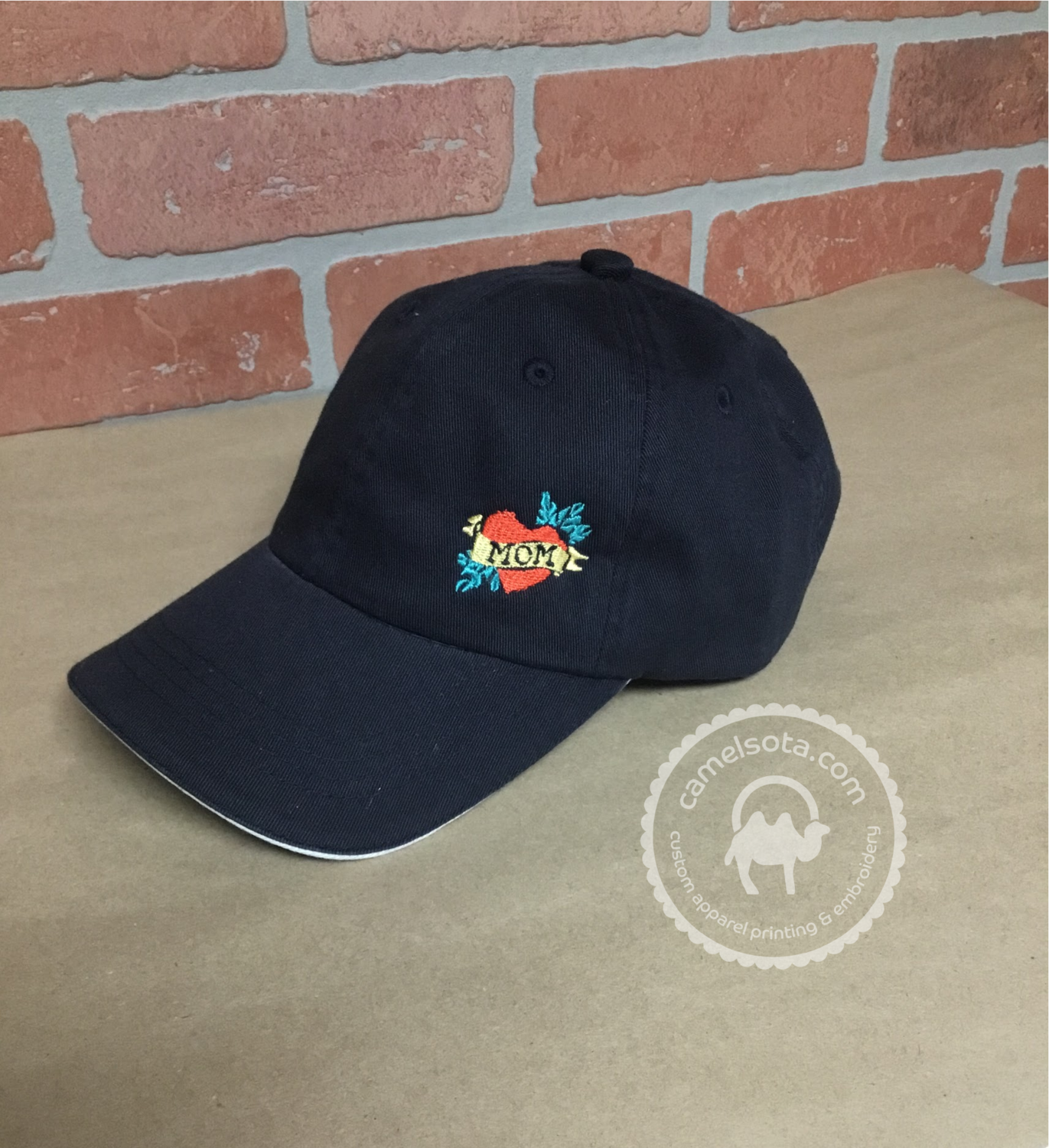 Embroidered Mom Tattoo Hat