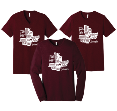 Retreat Tees - Order by Sep 9 to receive before Retreat Sep 21!