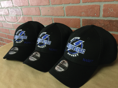 Custom Embroidered Eastview Hockey Hat