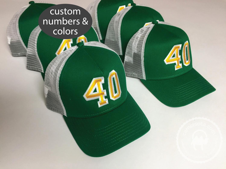 Custom Embroidered Birthday Party Group Hats - New Era Snapback Trucker Cap