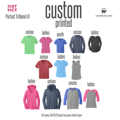 Custom District Perfect Tri T-Shirt