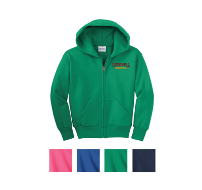 Port & Company® - Zip Up Hooded Sweatshirt
