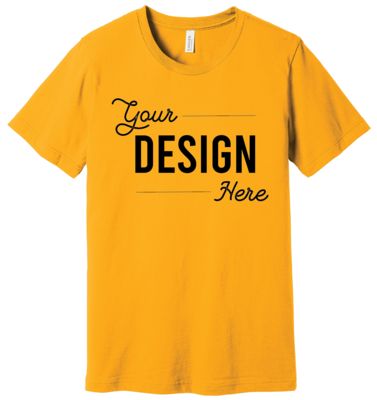 Custom Bella + Canvas Jersey Unisex Short Sleeve Shirt