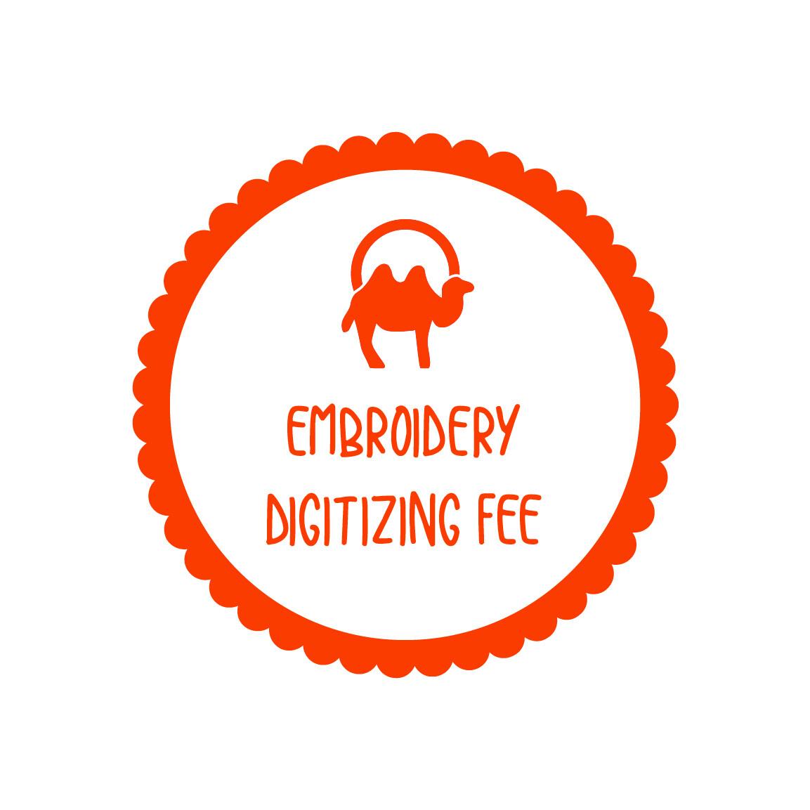 Logo Digitizing Fee for Embroidery